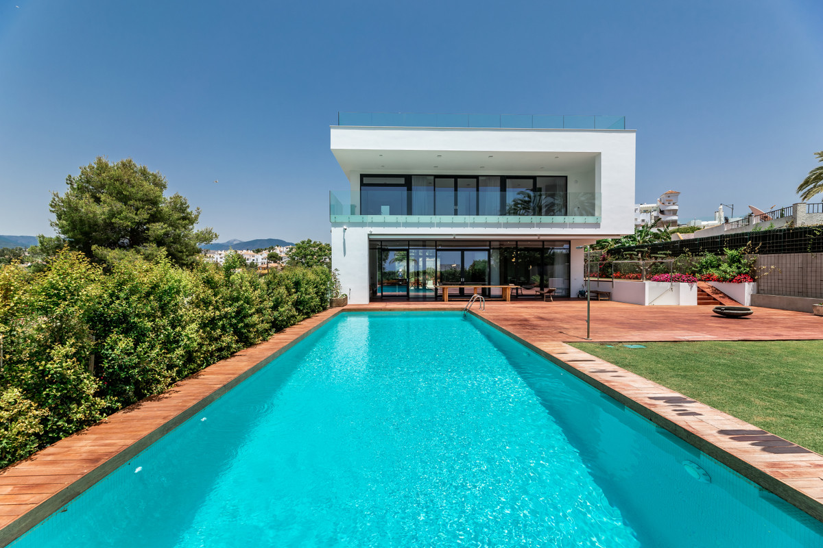 Fantastic luxury villa newly built in the heart of Puerto Banus, just few minutes walking to Casino.,Spain