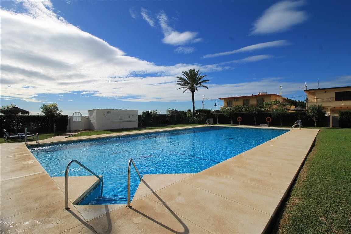 Front line beach complex in the ever popular La Cala de Mijas. This 1st floor studio benefits from a, Spain