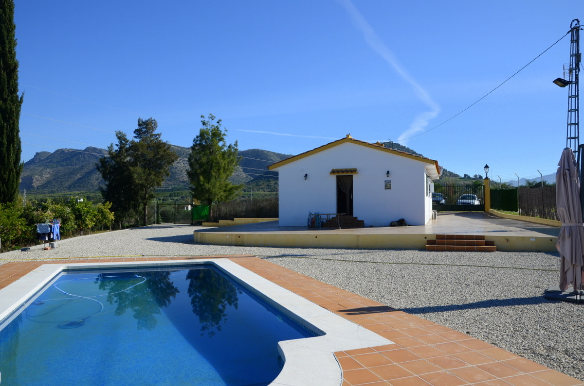 Beautiful two bedroom country house not far from Cartama. In a quiet location, with beautiful mounta, Spain