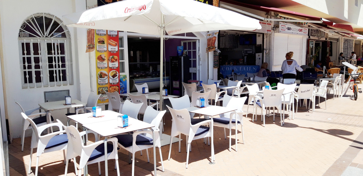 SEAFRONT COMERCIAL PREMISES FOR SALE IN FUENGIROLA  This commercial unit is ideally located on the s,Spain