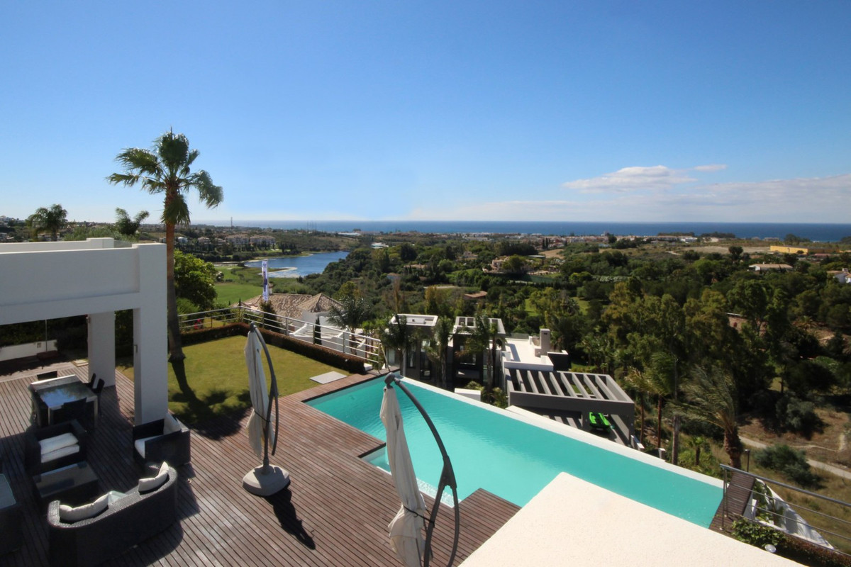 Outstanding contemporary villa located in sought after and with 24 hr security Los Flamingos Villa P, Spain