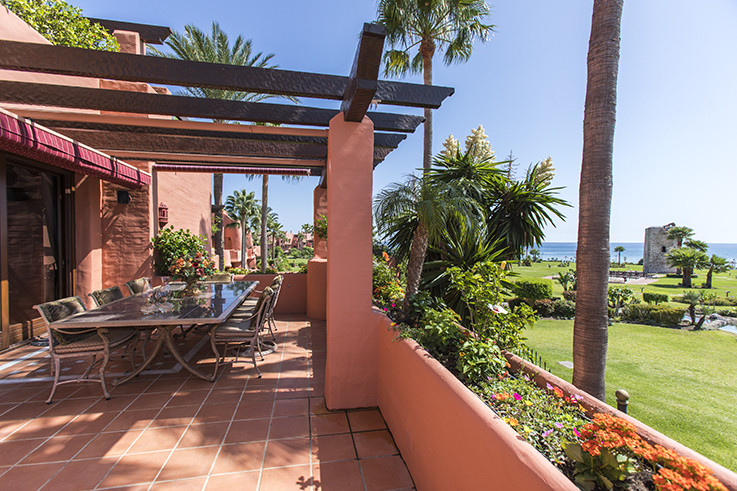 Truly outstanding duplex penthouse in the luxurious Torre Bermeja development. Upon entering this pr,Spain