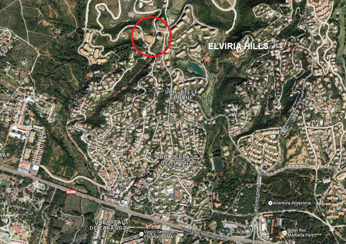 The great building plot in Elviria and the area of Greenlife Golf (comprising two plots and sold tog,Spain
