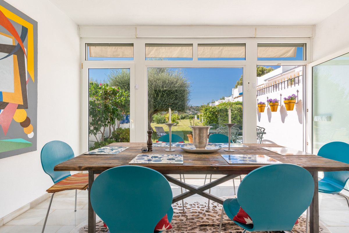 A spacious corner townhouse in the heart of Aloha in Nueva Andalucia with walking distance to all th,Spain