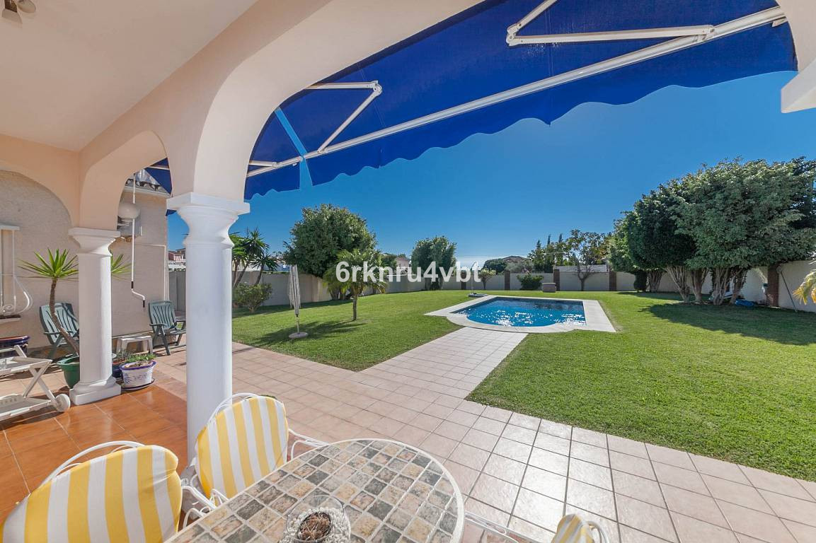 We are pleased to offer this unique 3 bedroom detached villa that comes fully furnished and is with , Spain
