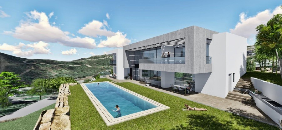 Construction ends in August-September 2019.  Villa in Los Arqueros. Benahavis, Costa del Sol. 6 Bedr, Spain