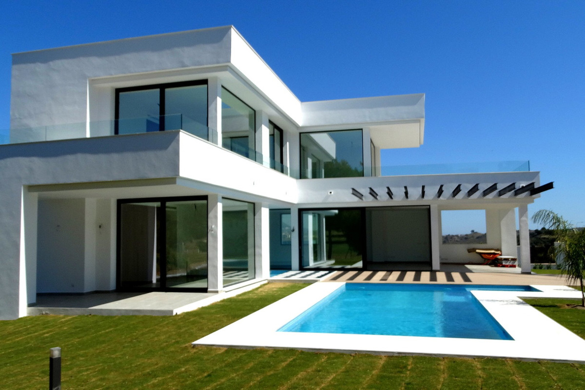 Brand new contemporary design villa in La Cala Golf Resort, with three 18-hole golf courses and only,Spain