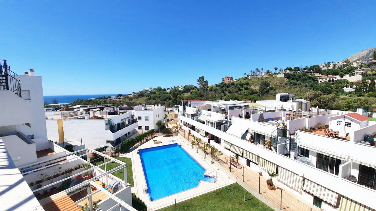 Top Floor Apartment, Benalmadena Costa, Costa del Sol. 3 Bedrooms, 2 Bathrooms, Built 90 m², Terrace, Spain