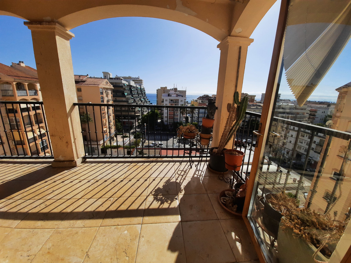Duplex penthouse for sale with 2 south facing terraces, on on each floor, both with sea views. It is, Spain