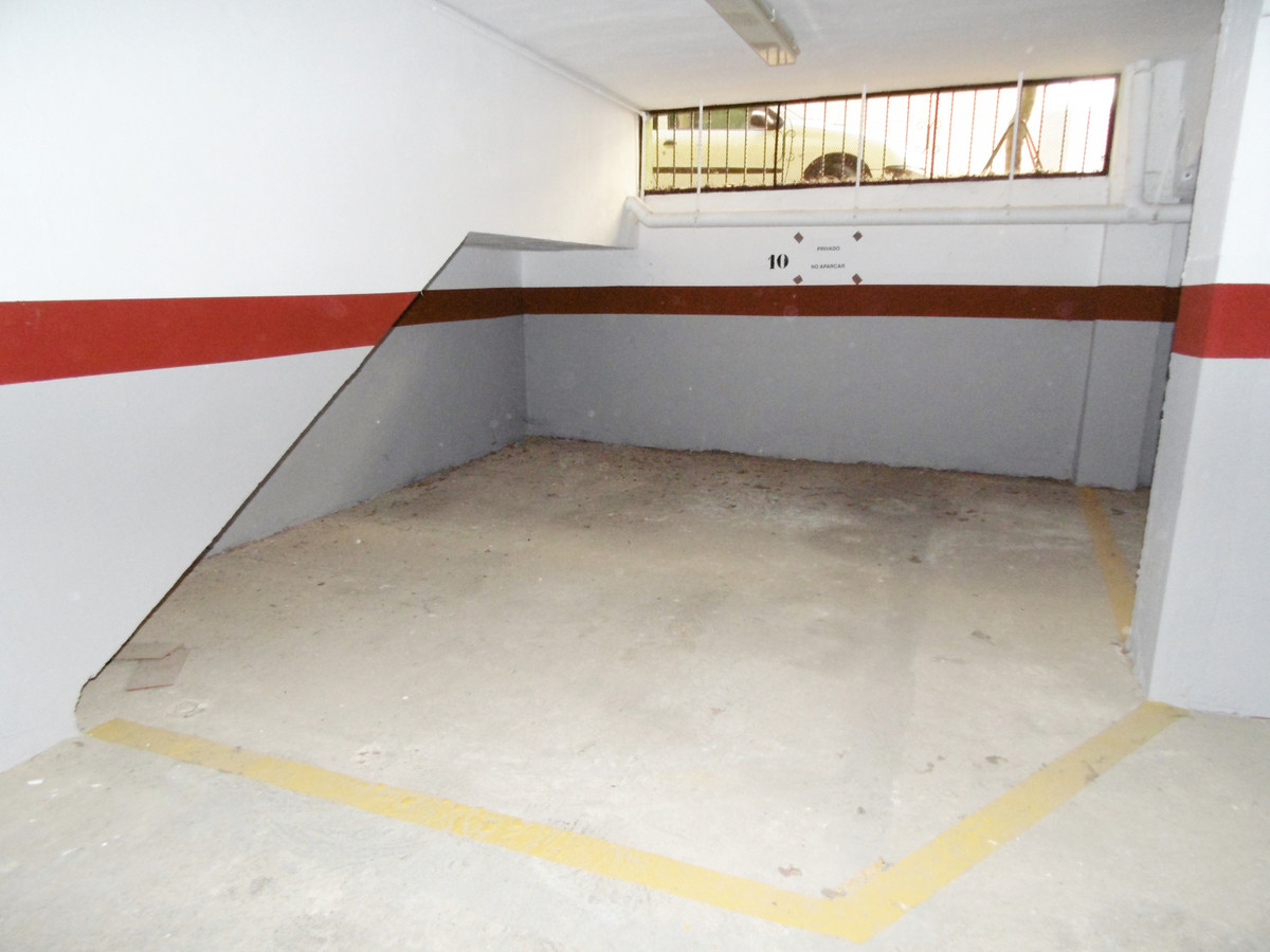 Large secure underground parking space only 110 metres from the paseo in Fuengirola. This space will,Spain
