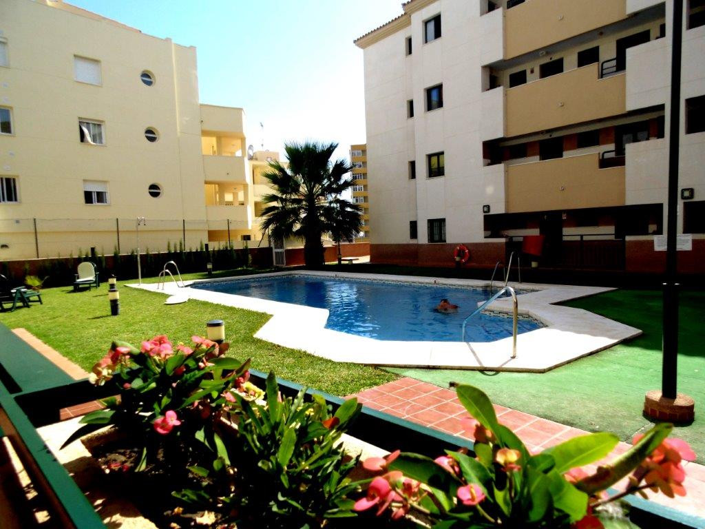 Beautiful apartment for sale with sea and mountain views. This property offers 2 double bedrooms and, Spain
