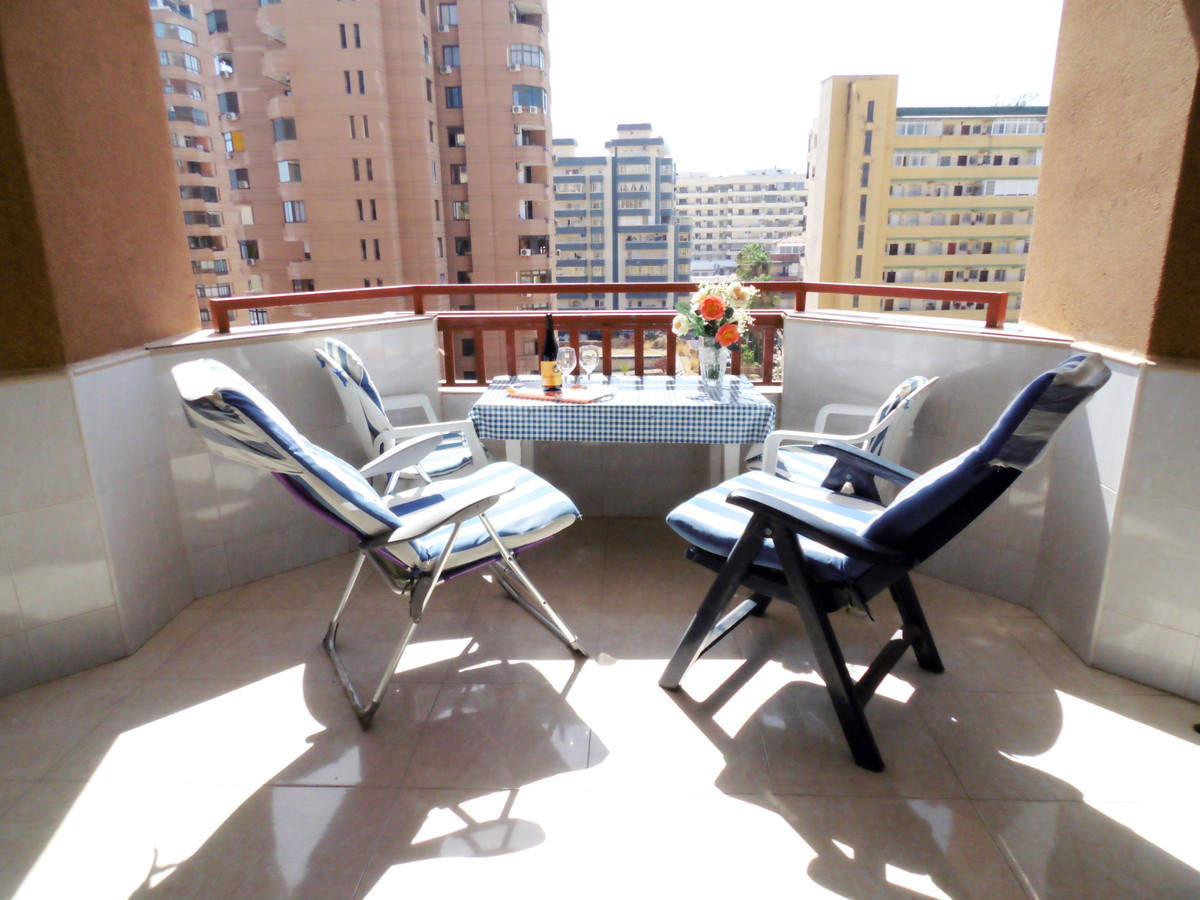 Studio in a front line beach complex for sale in one of the 4 star hotels in Fuengirola, on the Cost,Spain