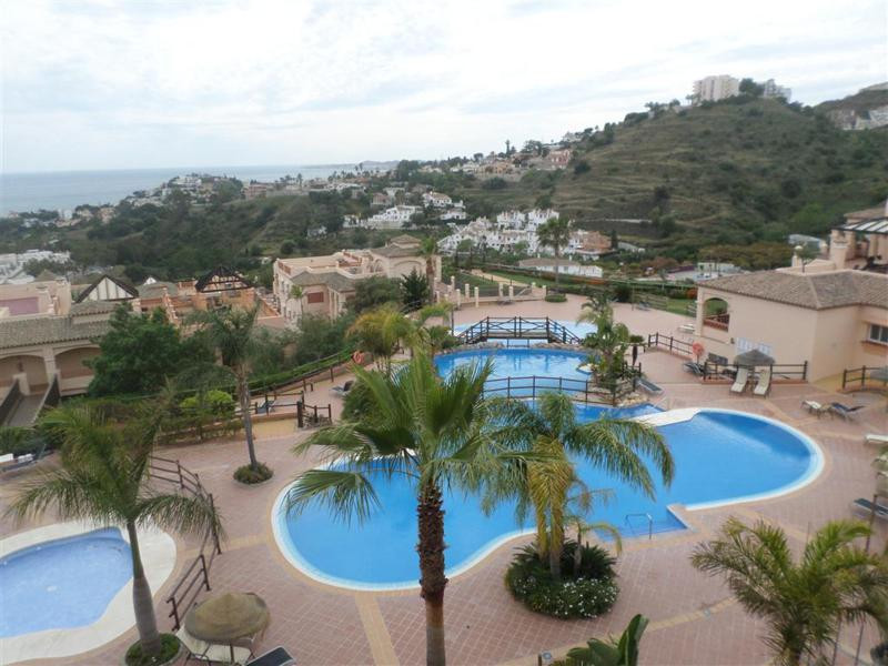 Built to the highest standard, beautiful apartment front line golf for sale in Torrequebrada, on the,Spain