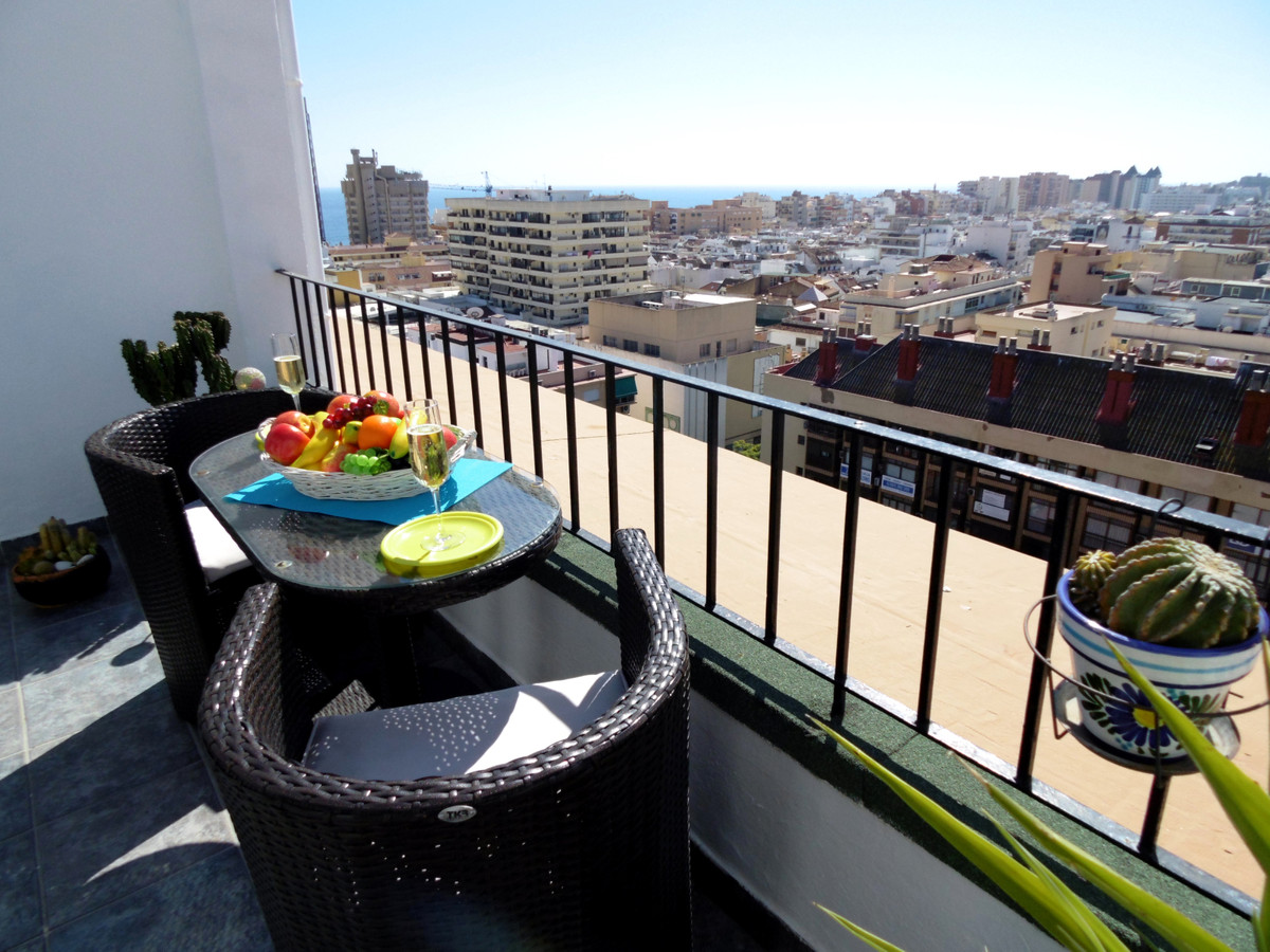 Great penthouse with panoramic views in the centre of Fuengirola and walking distance to the beach a,Spain