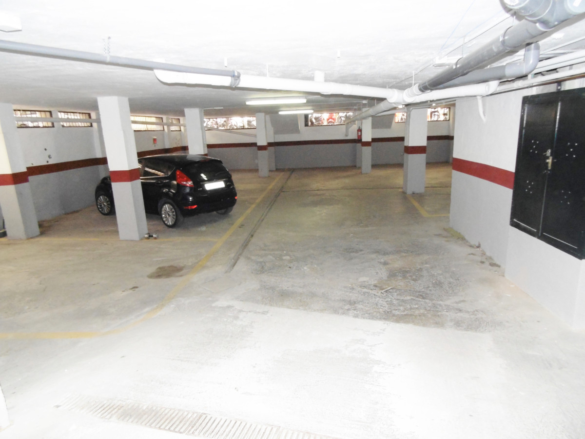 Large secure underground parking space just 110 meters from the promenade in Fuengirola. With space ,Spain