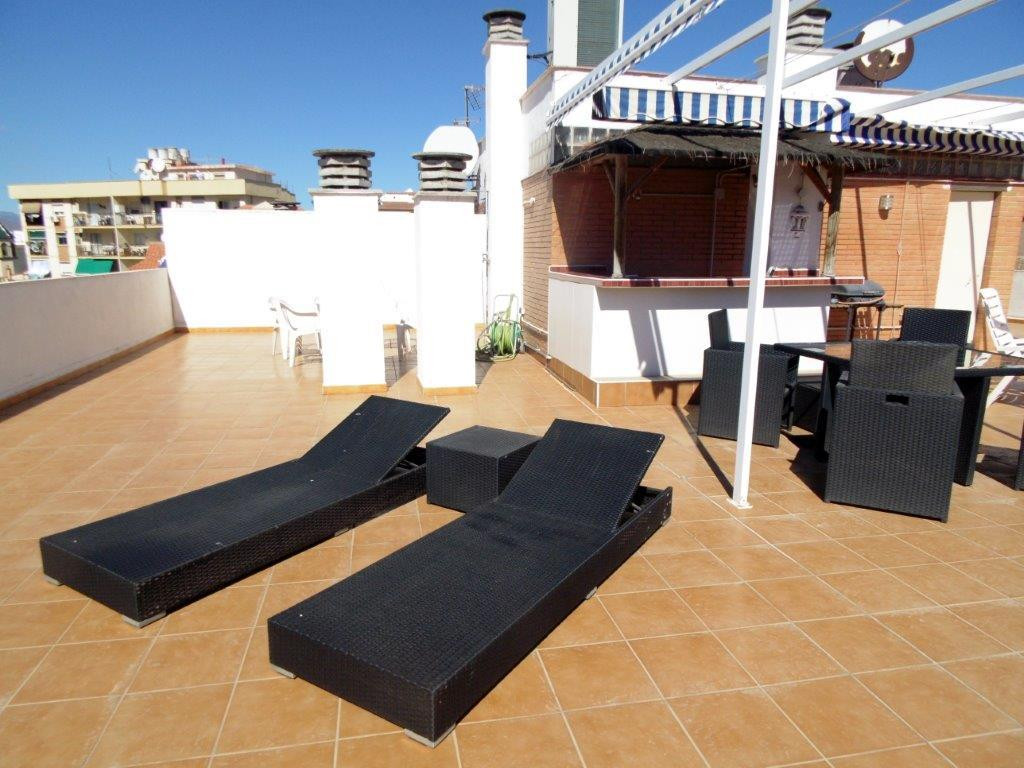 Amazing duplex penthouse for sale in Los Boliches, Fuengirola, on the Costa del Sol. This property i, Spain