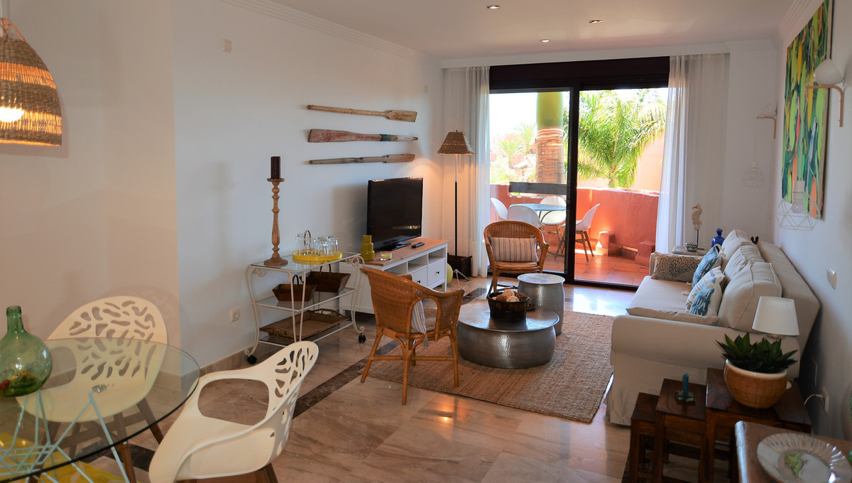 Beautiful luxury apartment in the beach urbanisation of Guadalmansa. This dwelling features top qual, Spain