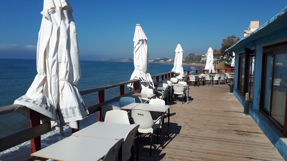 This is a well established Restaurant located on the beach, in a great location between Puerto Banus,Spain