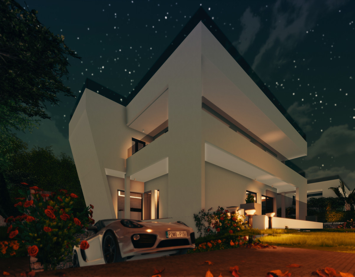 Great plot with a project for build 4 luxury villas. A privileged location, just a few minutes walk ,Spain