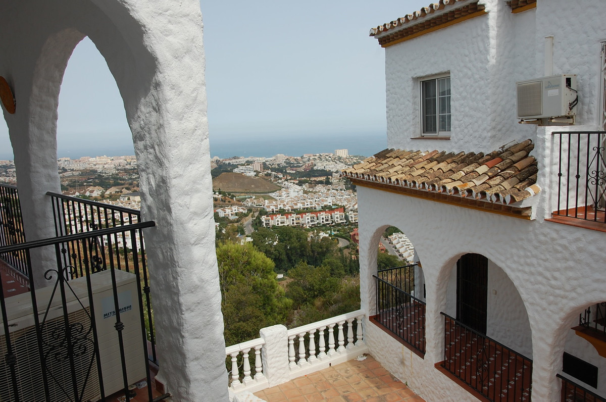 This 2 bedroom townhouse is located in a soughtafter urbanization in Benalmadena Pueblo, with incred,Spain
