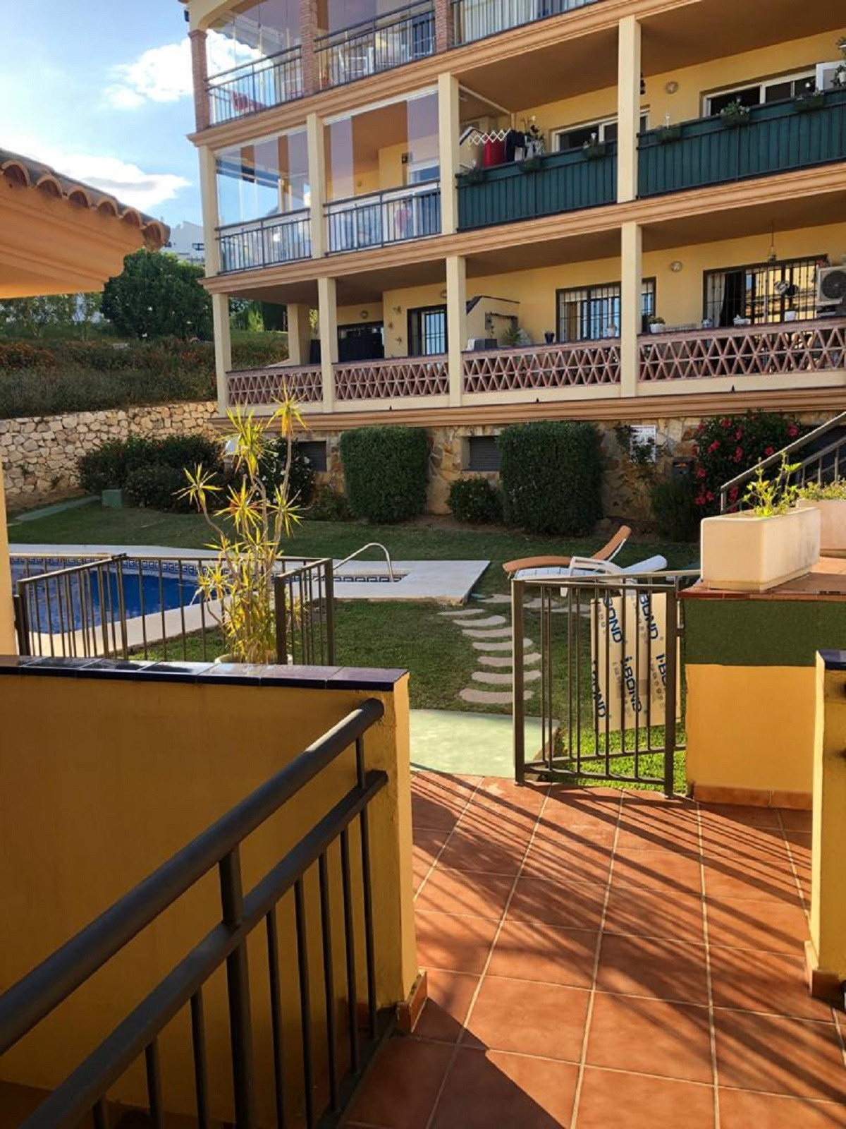 Apartment with terrace and impressive views in Mijas Golf. It has 50 s.q.mts distributed in 1 bedroo,Spain