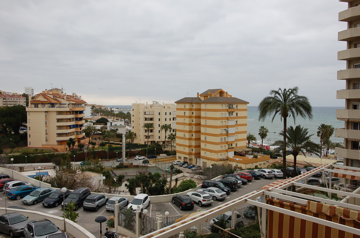 Beautiful front line studio located in Benal Beach with lateral sea views . It consists of living ro, Spain