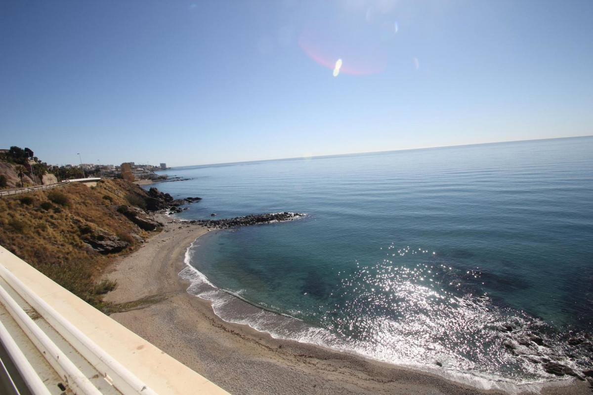 This renovated 2 bedroom apartment we have on the beach, on the first line ?, No ... it is on the be,Spain