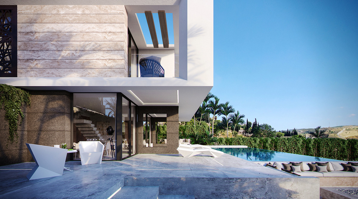 Wonderful villa inspired by the magnificent natural environment that surrounds such as the wide golf,Spain