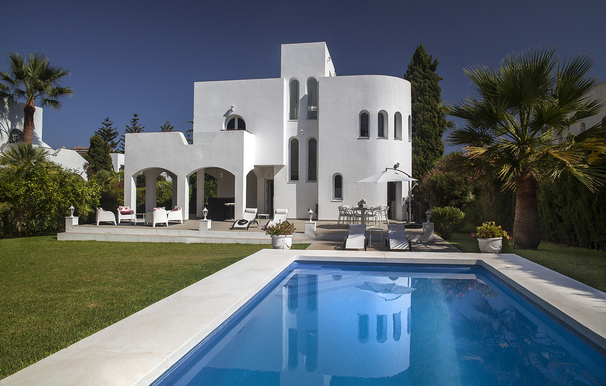 """"""" FANTASTIC FRONTLINE GOLF LUXURY VILLA IN NUEVA ANDALUCIA """"  This is property with 4 bedr,Spain"""
