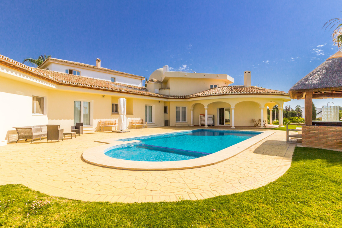 Stunning villa in El Pilar, Estepona.  Very spacious and private.  To start, on the ground floor is ,Spain