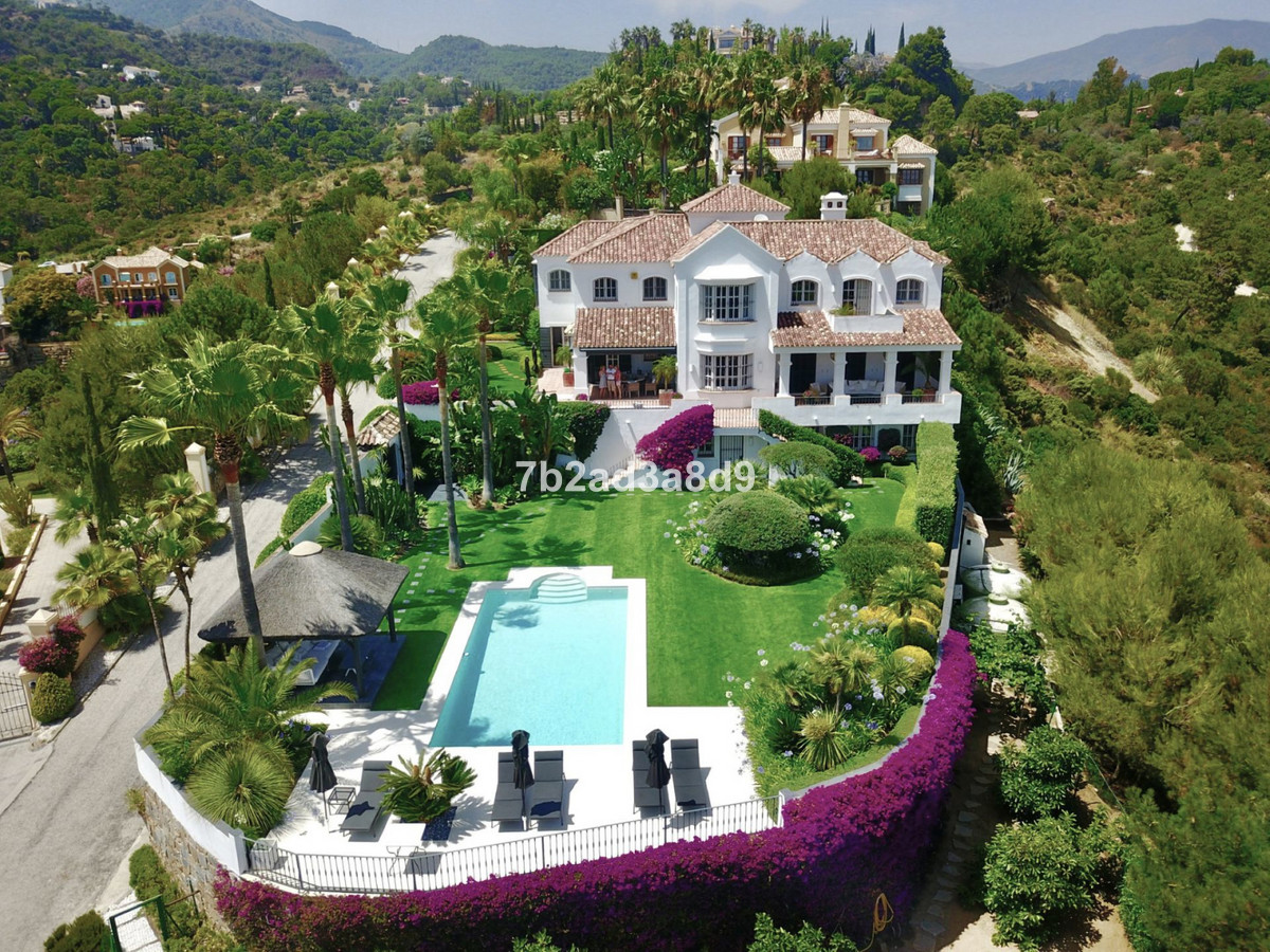 Elegant villa in classic meditarranean style architecture. High-quality materials combined with firsSpain