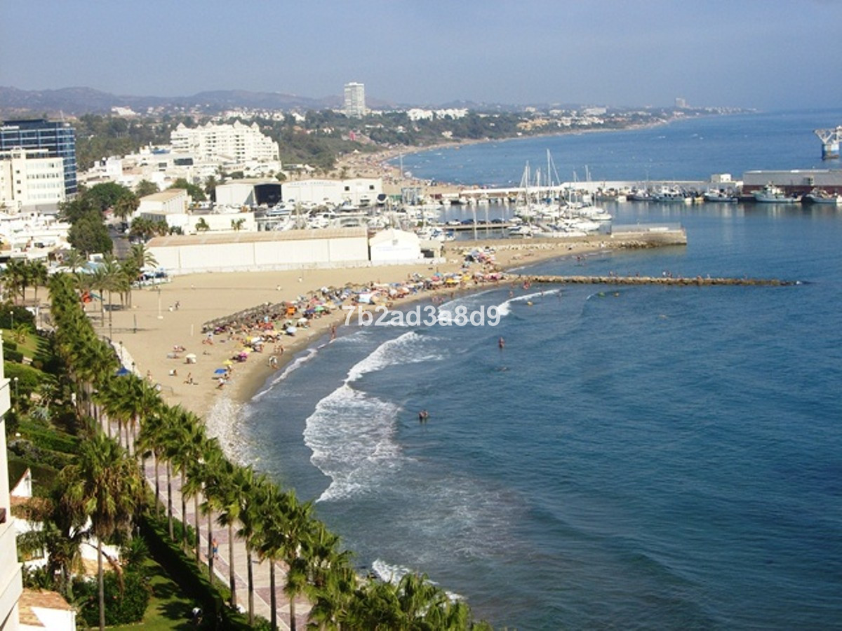 Frontline beach penthouse in Mabella with amazing sea views and views to the old town!  Perfectly lo, Spain