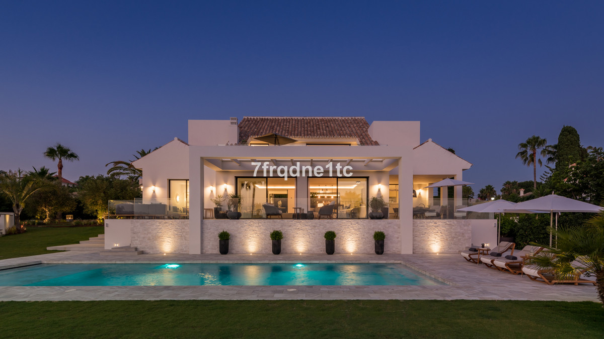 Impressive villa situated in the exclusive area of Elviria, an incomparable environment of nature wi,Spain
