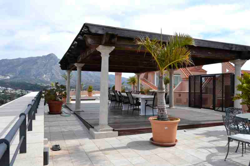 Corner Penthouse in Magna Marbella Nueva Andalucia. Magna Marbella is a fresh and dramatically style,Spain