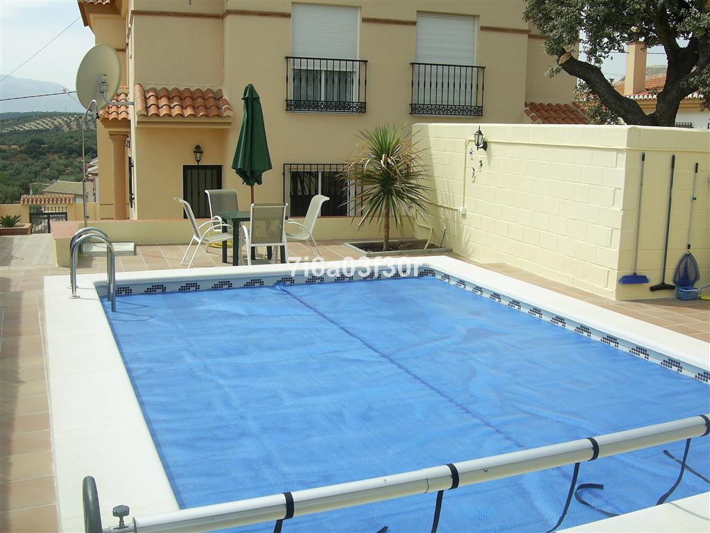 Superb semidetached villa, only 6 years old with outstanding views and situated in a picturesque vil, Spain