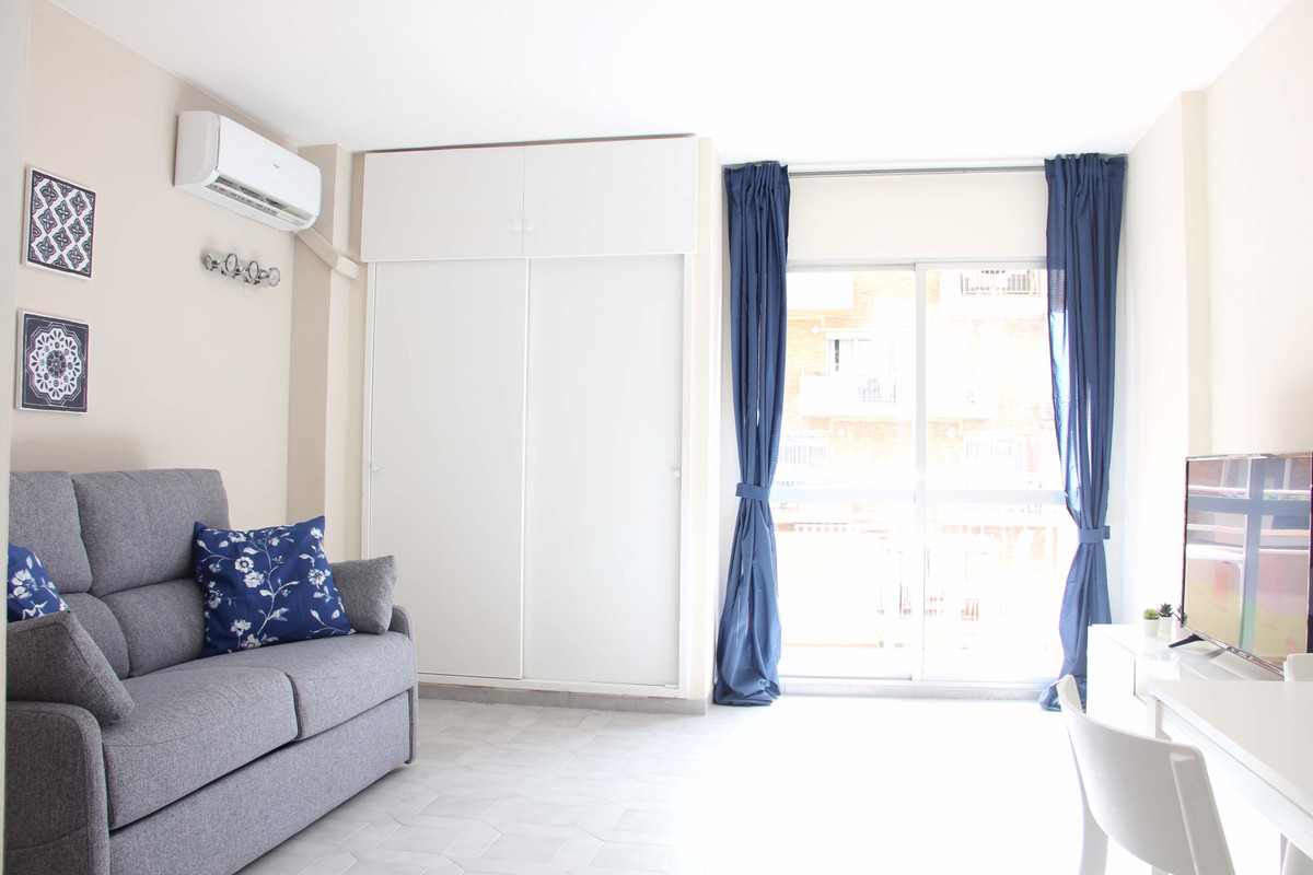 It is a cozy studio located in the center of Benalmadena. 15 minutes walk from the beach, next to th, Spain