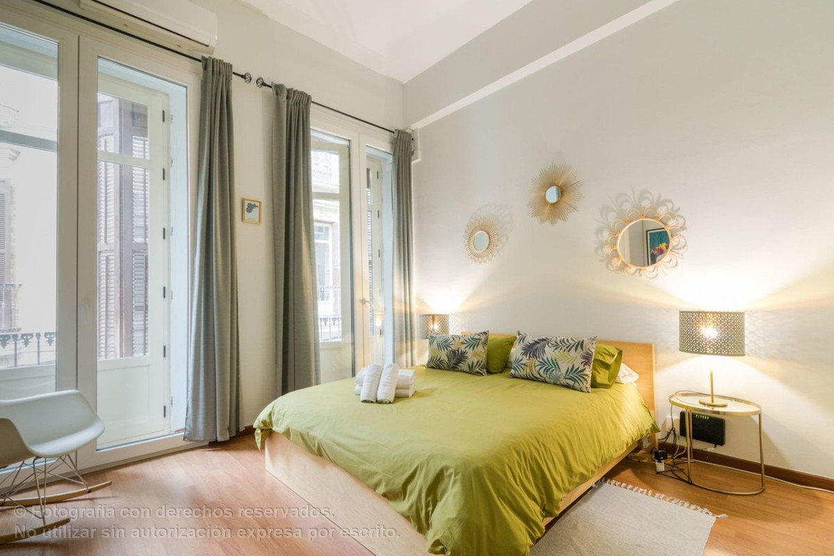 HOLIDAY RENTAL LICENCE GRANTED. Beautiful and unique apartment in the historical centre of Malaga in,Spain