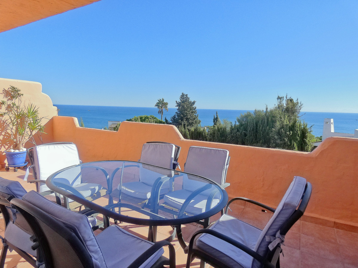 Impressive sea views from this Duplex Penthouse in Casares Playa.  The apartment is located in a ver, Spain