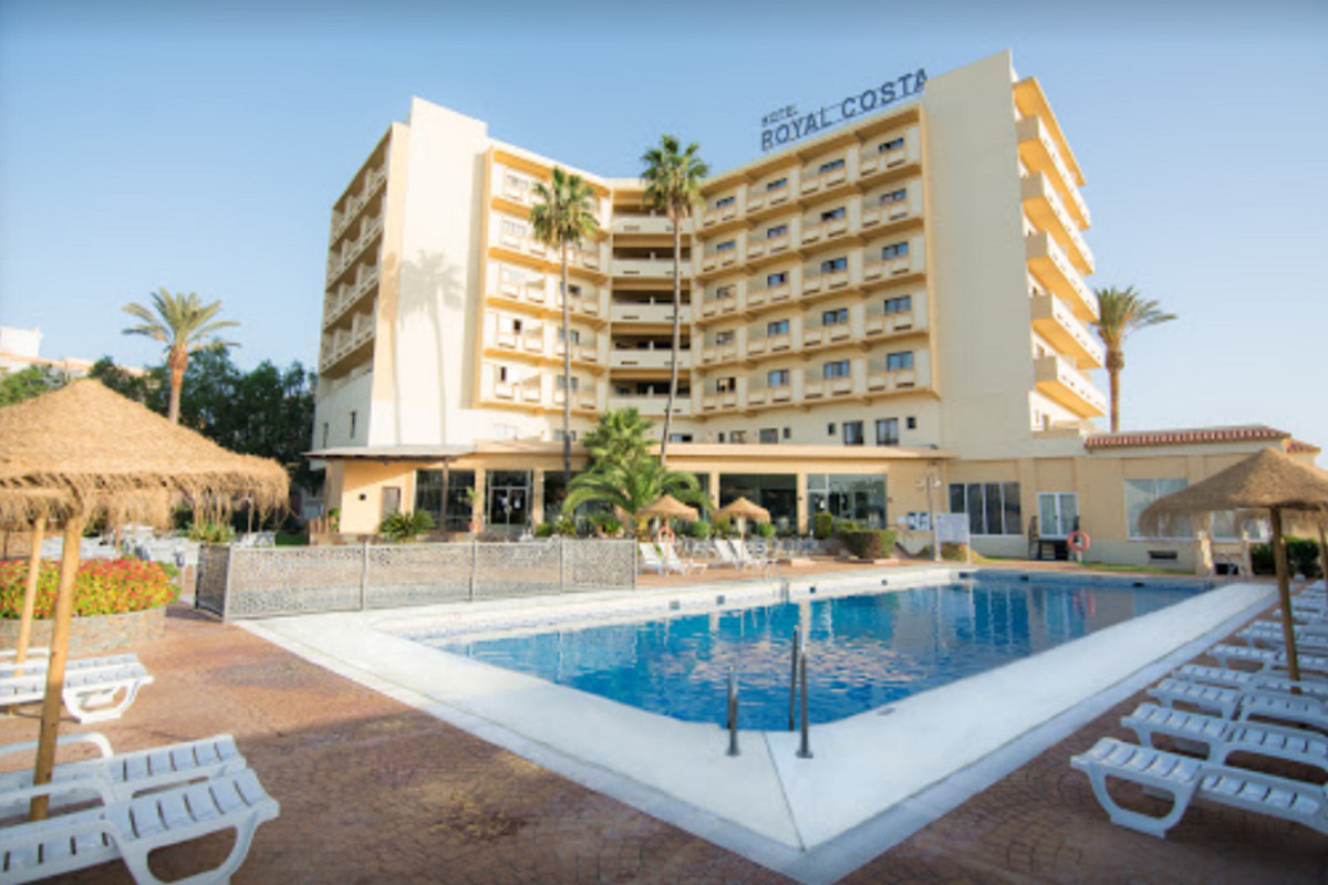 The Hotel, completely renovated in 2005, is located in Torremolinos four minutes from the beach, in , Spain