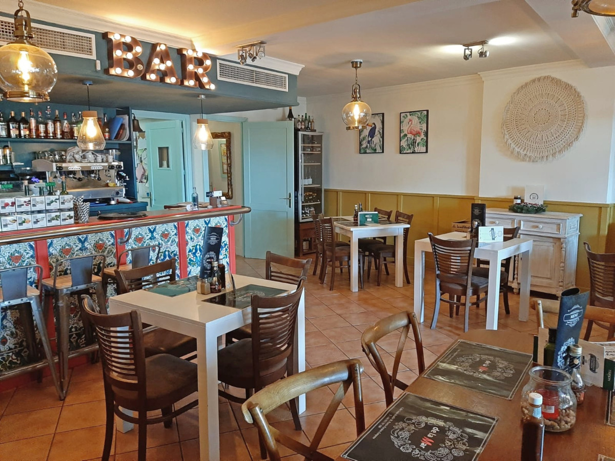 Very well going restaurant in the port of Estepona for transfer. With a lot of daily and weekly clie, Spain