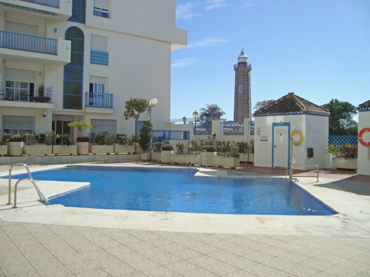 For sale spacious 2 bedroom apartment two steps from the port of Estepona near all kinds of cafes an, Spain