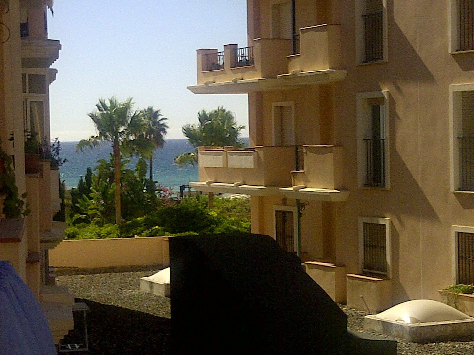 Nice apartment on the beach of 100 m² with 3 bedrooms with wardrobes, a bathroom, living room, kitch, Spain