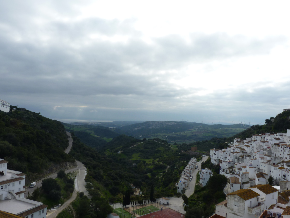 Charming hotel located in Casares, where you can see the white silhouette of its houses perched on tSpain