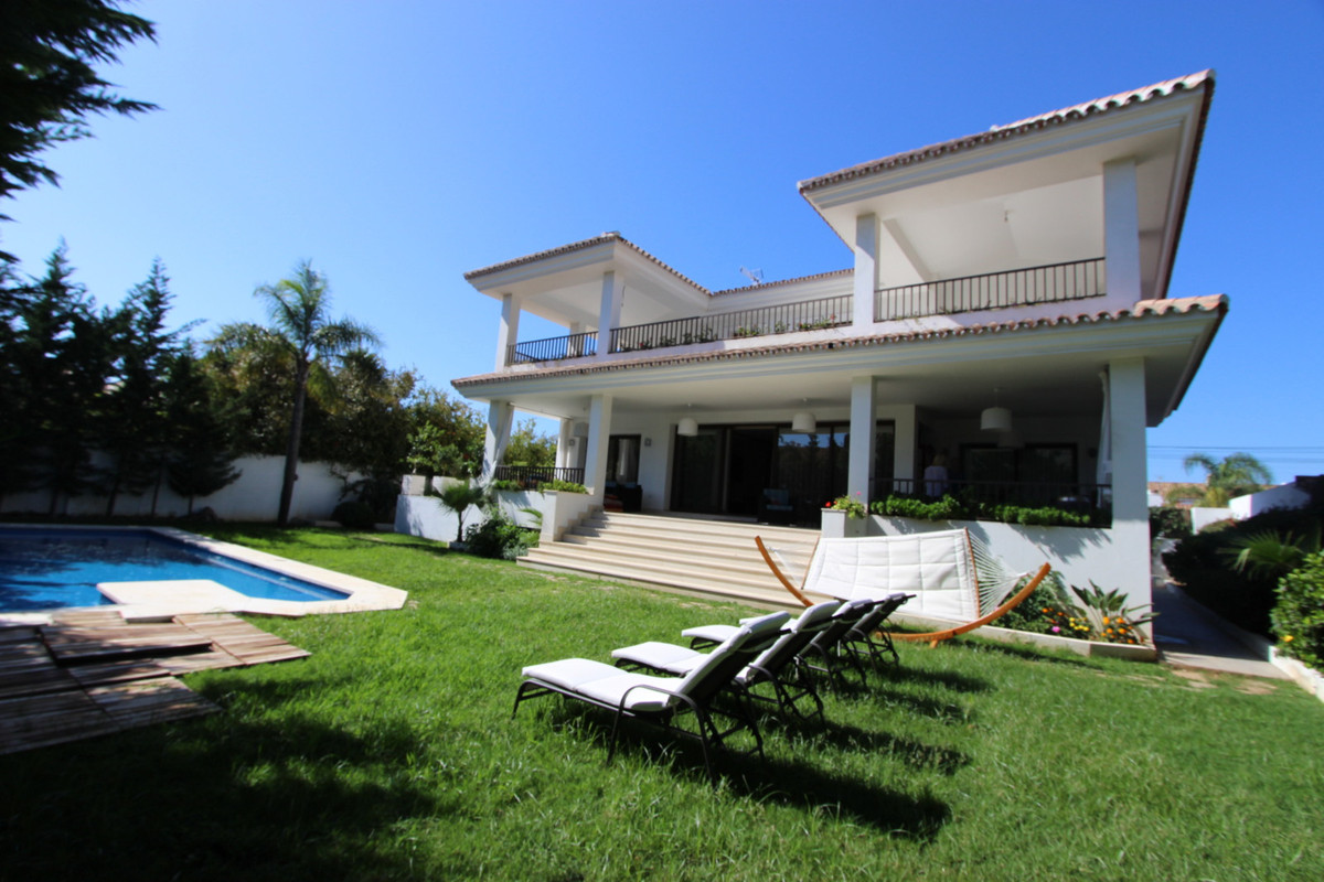 This spacious detached family home has a beautiful modern classic design: fresh, clean and bright wi, Spain