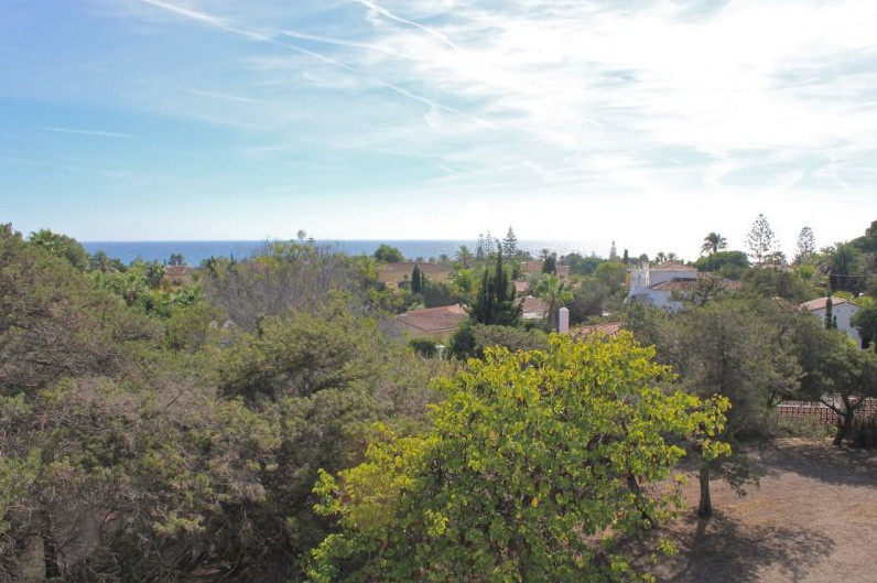 Fantastic plot with sea and mountain view in Marbella. Currently it is segregated into two plots  Th,Spain