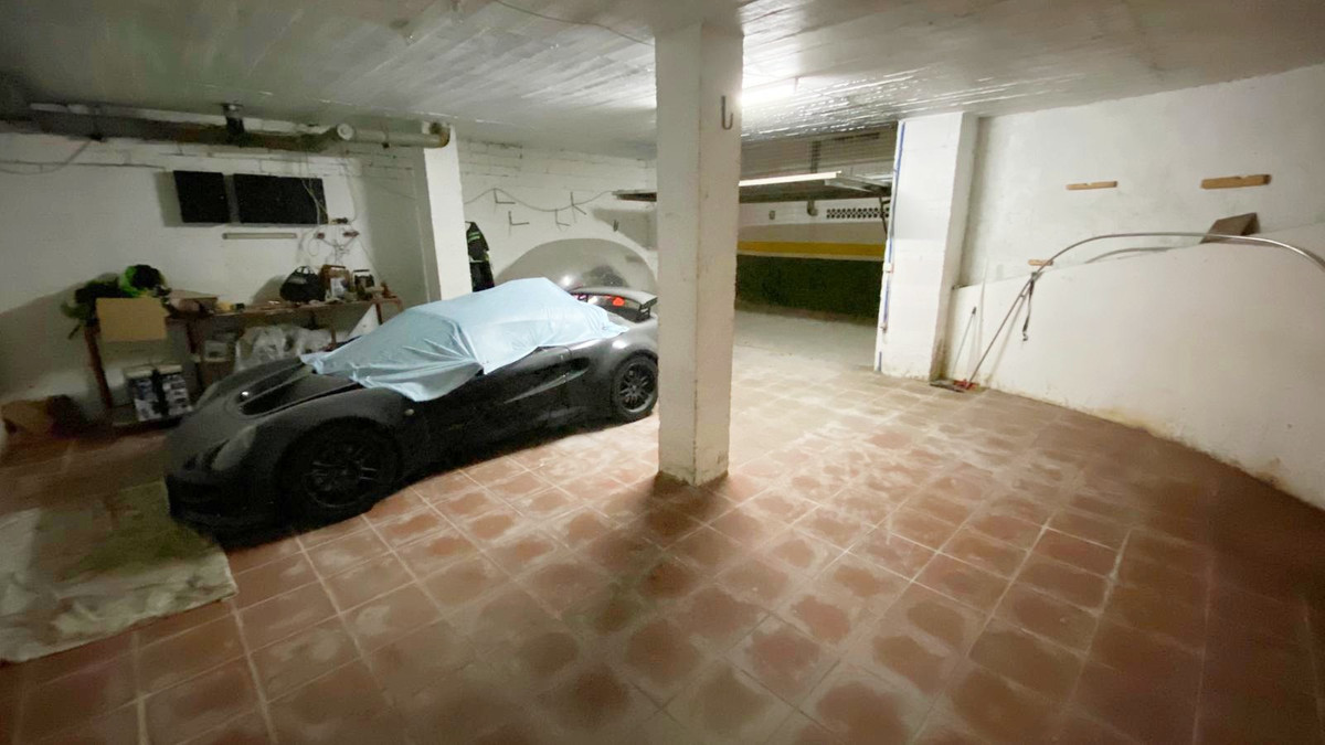 Large underground garage for sale under the port of La Duquesa. Space to park (at least) 2 cars, and, Spain