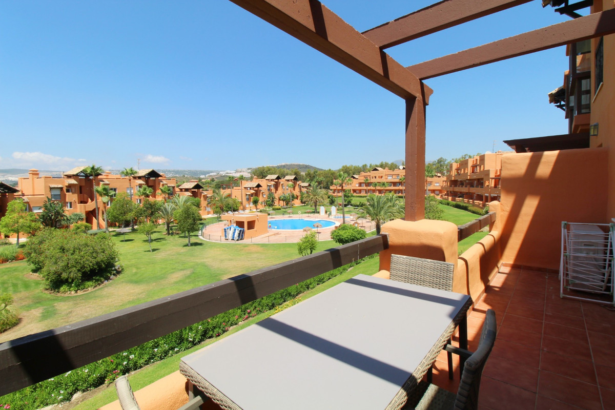 Casares del Sol poolside apartment in the beautiful grounds of Casares Costa. The apartment has a so,Spain