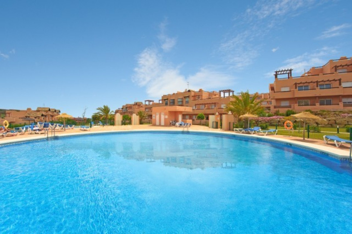 Casares del Sol poolside middle floor apartment in the beautiful grounds of Casares Costa. The apart,Spain