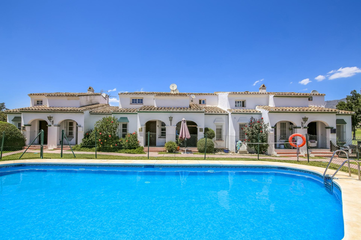 This townhouse is located in the ideal location of Mijas golf.  The Urbanisation is located only a 5,Spain