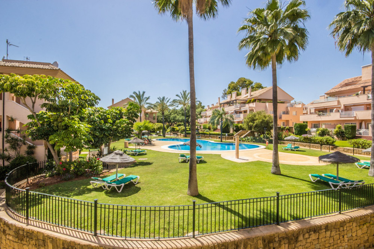 well presented 3 bedroom apartment in the popular community of Los Jardines de Santa Maria, Elviria., Spain
